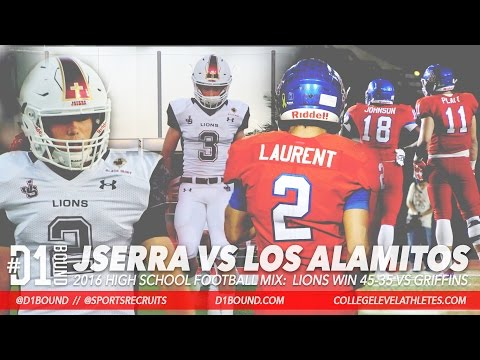 ACTION-PACKED GAME! JSerra Catholic Wins 45-35 vs Los Alamitos: 2016 HSFB Highlight Mixtape