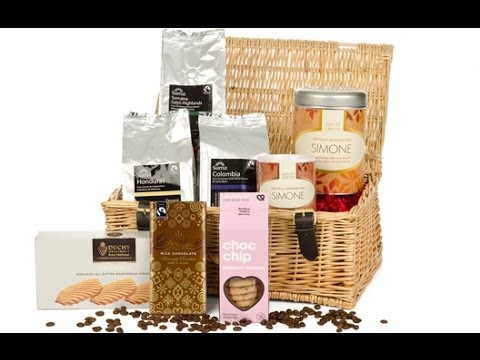 Luxury Personalised Coffee Hamper