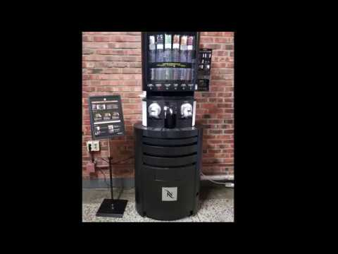 How to use NEspresso Vending Machine UHD Quality - YouTube