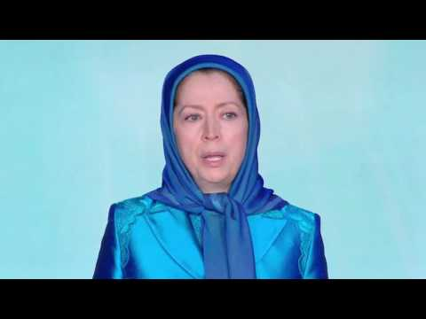 """Grand Gathering of Iranians for #FreeIran ،""""flag performance"""" displayed by PMOI in Albania"""