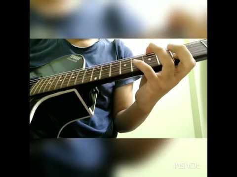 Sound of silence / mouno mukhorota guitar lead || Simon and Garfunkel || Chandrabindoo ||