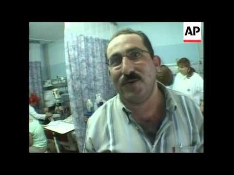 Palestinian children treated in Israeli hospitals