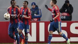 ЦСКА-Манчестер Сити 2:2,Лига Чемпионов.Обзор матча