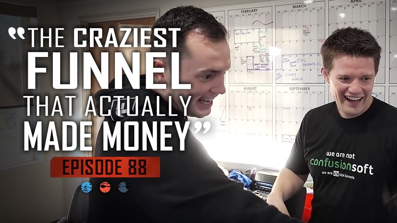 The Craziest Funnel That ACTUALLY Makes Money   Funnel Hacker T.V Ep 88