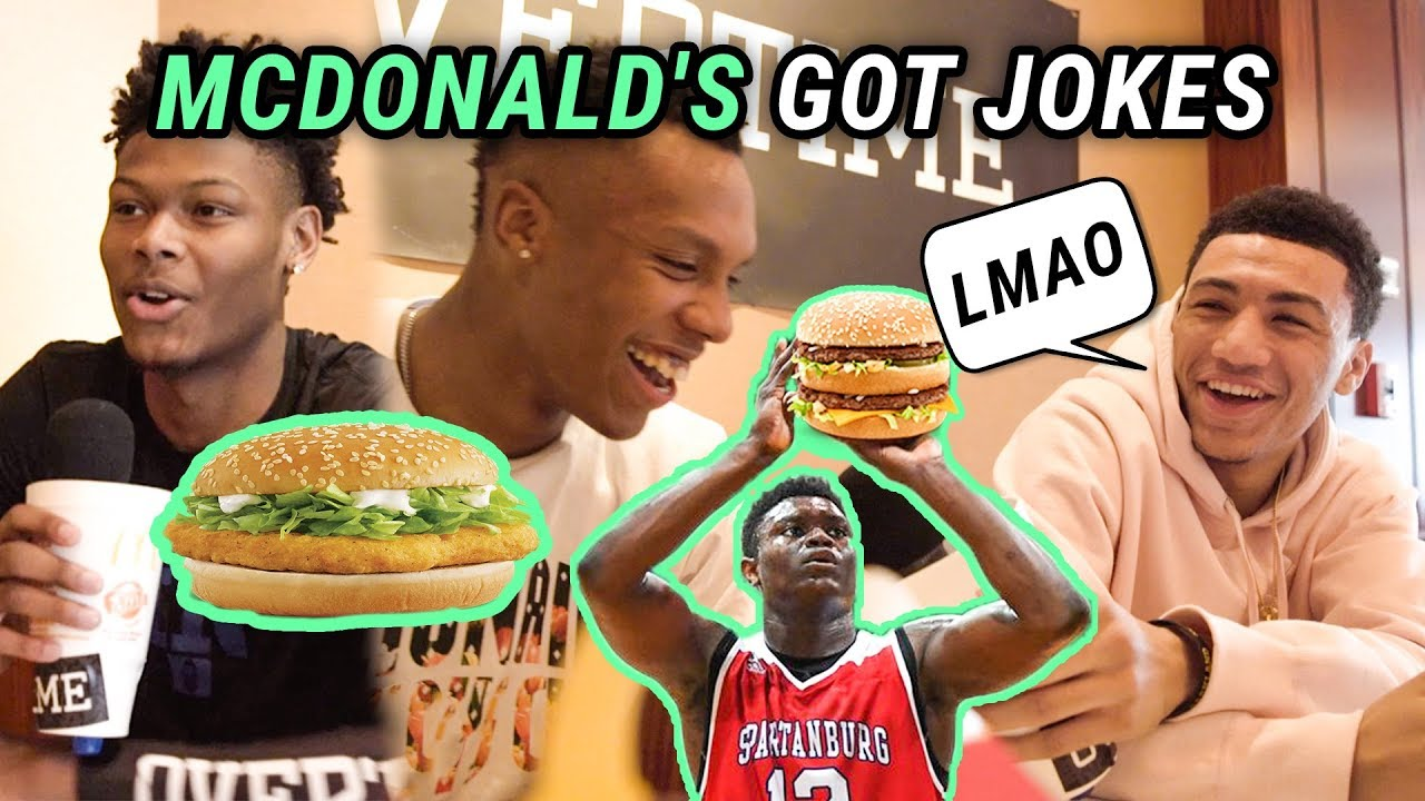 what-does-zion-williamson-get-at-mcdonald-s-rj-barrett-jq-all-americans-are-comedians