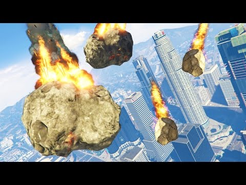 GTA 5 Mods - ULTIMATE METEOR SHOWER MOD!! GTA 5 Meteor Armageddon Mod! (GTA 5 Mods Gameplay)