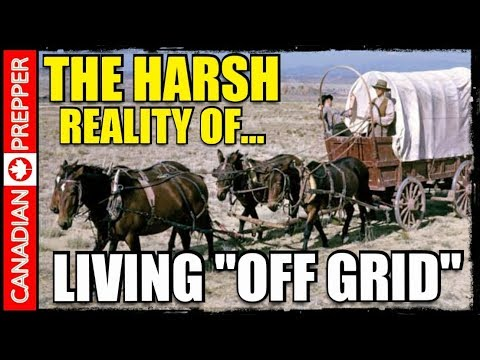 ACTUALLY Living Off Grid Would be Horrible: The Bug Out Wagon