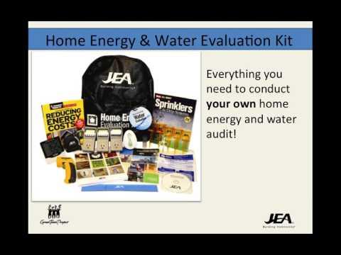 Home Energy & Water Evaluation Webinar 10 20 15