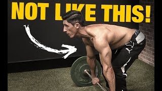 The Truth about Barbell Rows (AVOID MISTAKES!)