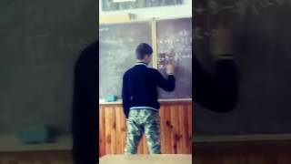 Типичный урок алгебры в типичной украинской школе