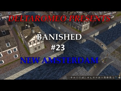 Banished: New Amsterdam Part 23 - The Shipyards