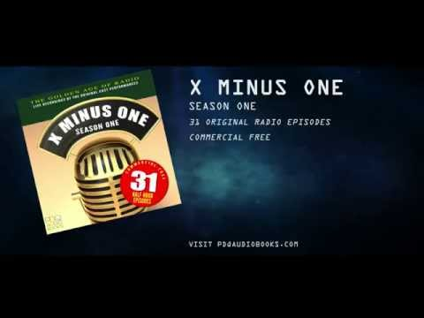 X MINUS ONE AUDIBLE RELEASE TRAILER