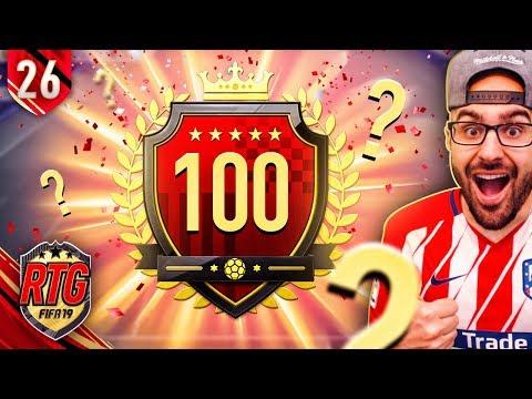 OMG  BACK TO BACK TOP 100?!? FIFA 19 Ultimate Team RTG #26