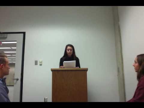 Eulogy- Kayla Belongia