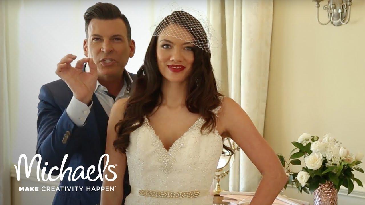 David Tutera: Wedding Accessories | Michaels - YouTube