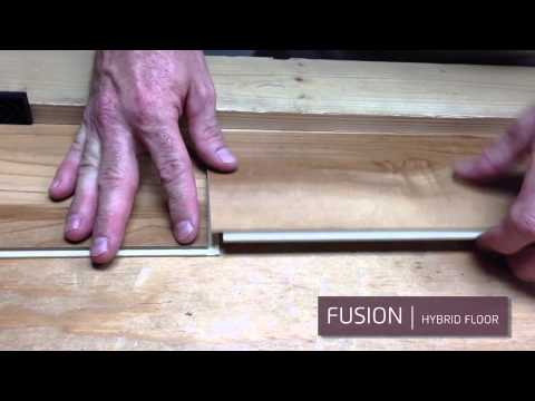 installing fusion hybrid floors - youtube