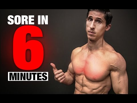 Chest Workout (SORE IN 6 MINUTES!)
