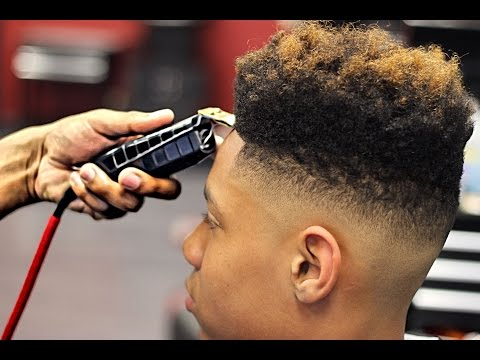 HAIRCUT: How To Cut a HighTop Fade  Step by Step Tutorial  HD