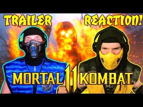 Scorpion & Sub-Zero REACT - MORTAL KOMBAT 11 Official Trailer   MK11 PARODY! thumbnail
