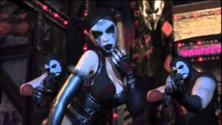 Batman: Arkham City DLC Harley Quinn's Revenge All Cutscenes  (HD)