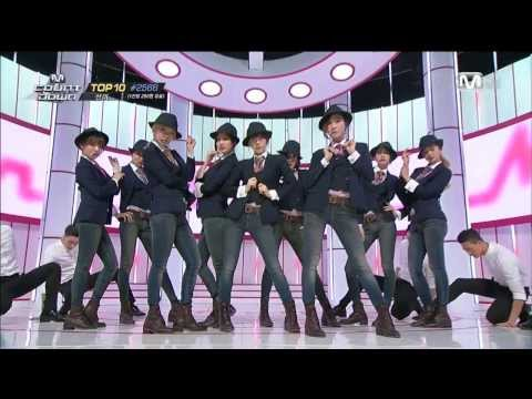 [1080p HD] 140306 M! Countdown SNSD Comeback Stage - Wait A Minute+Mr.Mr.