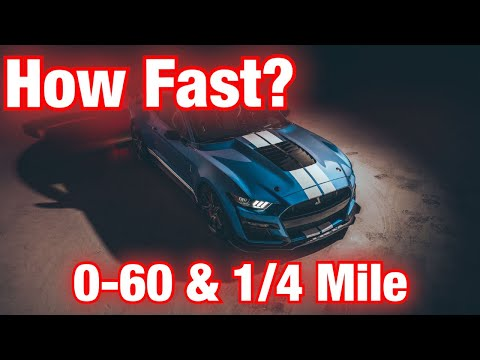 Shelby GT500 1/4 Mile & 0-60 Revealed? Let Me Explain!