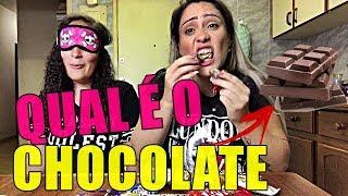 QUAL É  CHOCOLATE ? COM MINHA IRMÃ