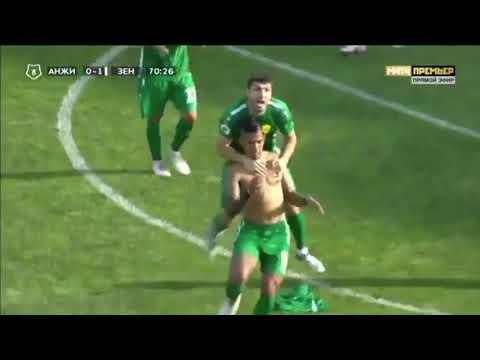 Gol de Andres Ponce vs el zenit de sanpeteburgo (zenit vs anzhi Makhachkala)