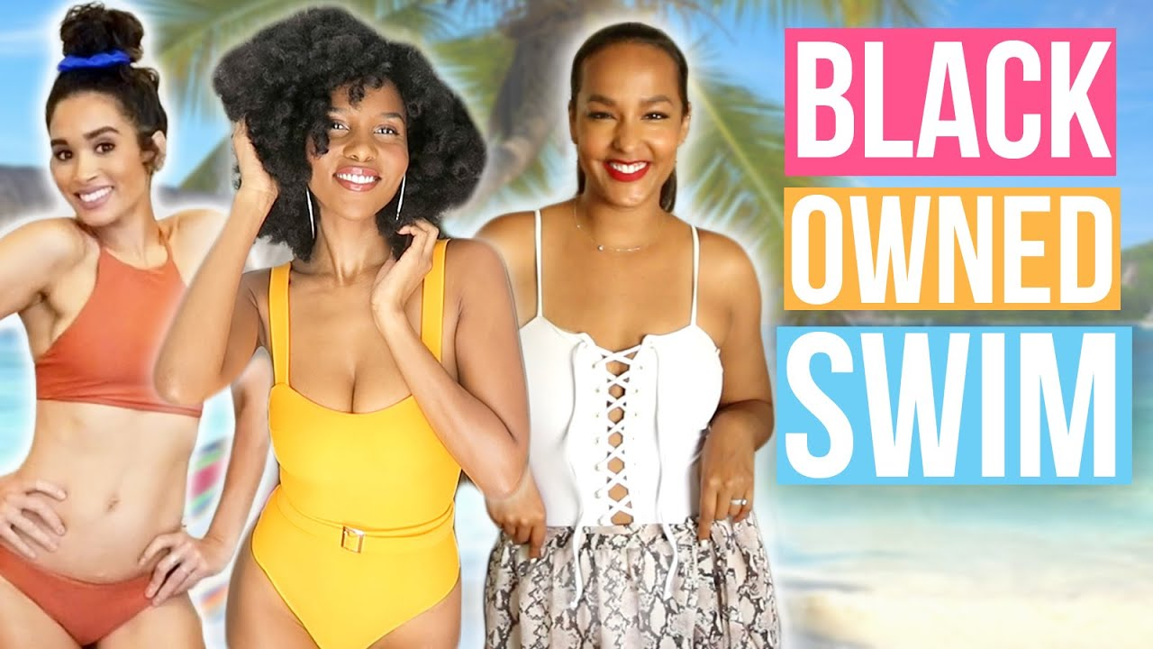 Black Owned Swimsuit Brands You Need To Try!