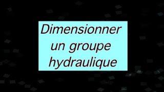 TUTO groupe hydraulique