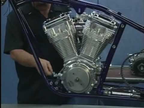Build A Motorcycle Engine Transmission Install