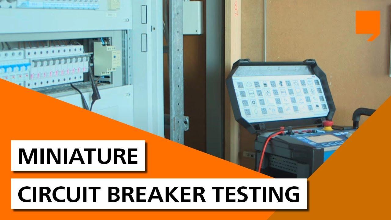 miniature circuit breaker testing