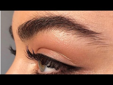 HOW TO GROW THICKER EYEBROWS | NATURALLY + FAST | My Secret Ingredient Tutorial