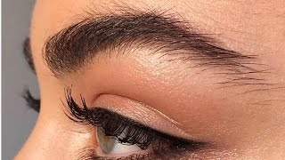 HOW TO GROW THICKER EYEBROWS   NATURALLY + FAST   My Secret Ingredient Tutorial