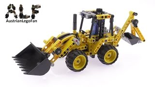 Lego Technic 42004 Mini Backhoe Loader - Lego Speed Build Review