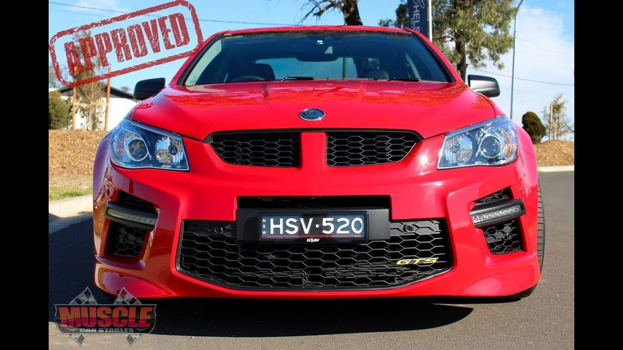 Repeat HSV VF GTS - W507 Pack by Muscle Car Stables - You2Repeat