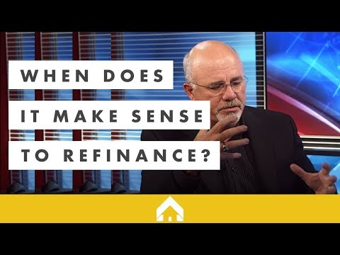 when-does-it-make-sense-to-refinance?-|-dave-ramsey-and-churchill-mortgage