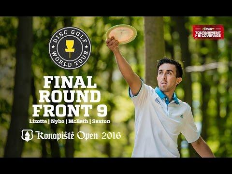 2016 Konopiste Open: Lead Card Final Round, Front 9 (Lizotte, Nybo, McBeth, Sexton)