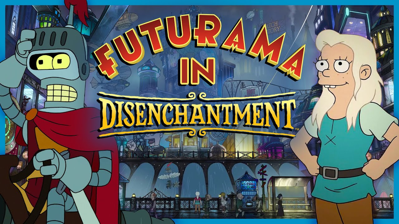 Download EVERY Futurama Reference in Disenchantment (Parts 1-3)