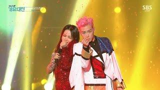 T.O.P X Uhm Jung Hwa - D.I.S.C.O in 2016 SBS Gayodaejun