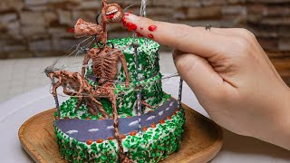 Miniature Siren Head CAKE サイレンヘッドケーキ Kitchen Food ASMR I Mini real cooking with DG2T COOKING