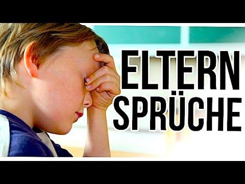 TYPISCHE ELTERN-SPRÜCHE... - YouTube