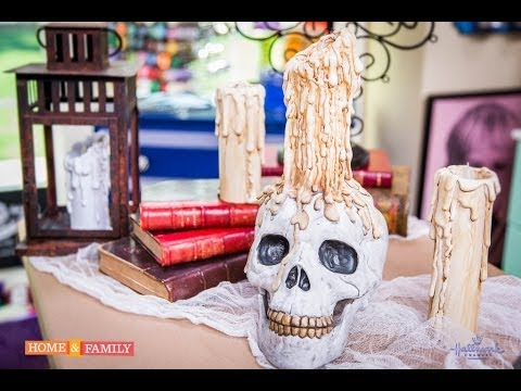 Spooky Candles - DIY by Tanya Memme (As Seen On Home & Family on Hallmark Channel)