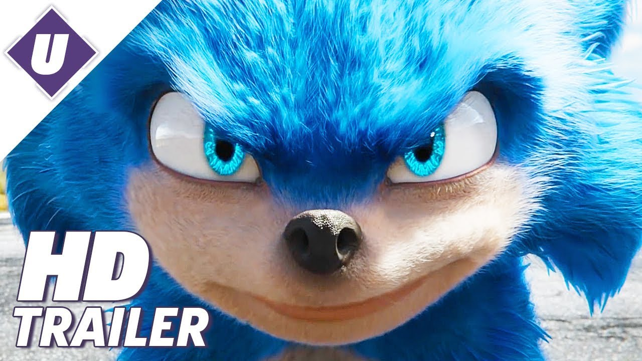 Movie Poster 2019: Sonic The Hedgehog (2019) - Official Movie Trailer