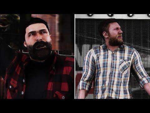 Wwe 2k18 Hidden Gm Models Mick Foley Daniel Bryan Entrances Youtube