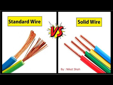Stranded Wire vs Solid Wire | Skin Effect | Best Wire Save Electricity | Electrical Wire | wire type