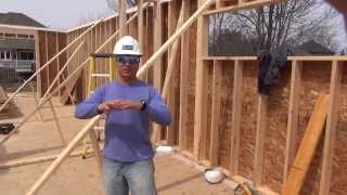 How To Build A House: Framing First Floor Walls Ep 33