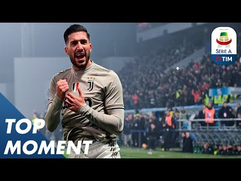 Emre Can scored a late third with his first touch | Sassuolo 0-3 Juventus | Top Moment | Serie A