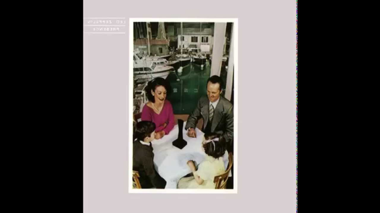 Led Zeppelin Presence Full Album Reversed Youtube