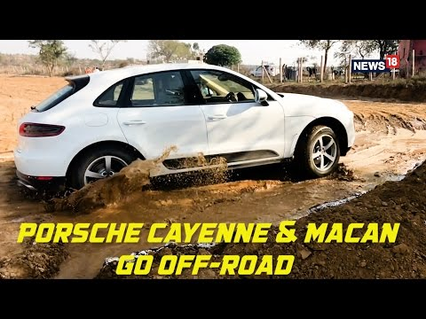 Porsche Cayenne and Macan Off-Road Capability Showcase